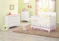 Graco Rory Convertible Crib White