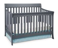 Storkcraft Avalon 4-in-1 Convertible Crib Gray