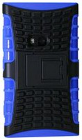 Exian Armored Case with Stand for Lumia 920 - Blue