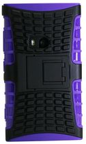 Exian Armored Case with Stand for Lumia 920 - Purple