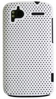 Exian Case for HTC Sensation - Net Pattern White