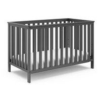 Storkcraft Rosland 3-in-1 Convertible Crib Gray Grey