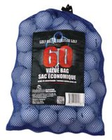 Round Two 60 Golf Balls Mesh Bag