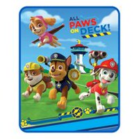 "PAW Patrol Boy ""Pups in Motion"" Silk Touch Throw"