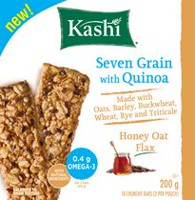 Kashi Seven Grain Honey Oat Flax With Quinoa Bars