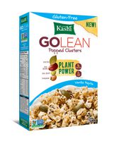 Kashi GOLEAN Popped Clusters Plant Power Gluten-Free Vanilla Pepita Cereal
