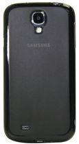 Exian Frosted Transparent Case for Samsung Galaxy S4 - Grey