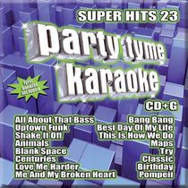 Sybersound - Party Tyme Karaoke: Super Hits 23