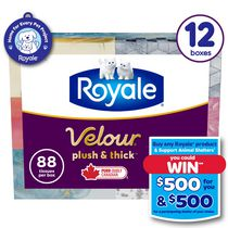 ROYALE 3-ply Facial Tissues