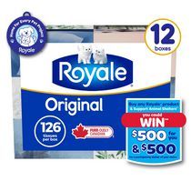 ROYALE® Original 2-Ply Facial Tissue