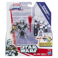 Star Wars Galactic Heroes Captain Phasma and First Order Stormtrooper
