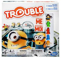 Hasbro Gaming Trouble Despicable Me Minion Edition