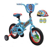 Paw Patrol 12 Inch Bike with Helmet and Pad Set