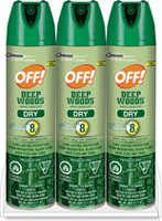 OFF™! Deep Woods Insect Repellent Dry