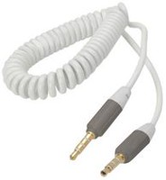 Exian Spring Style Auxiliary Cable - White