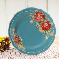 THE PIONEER WOMAN VINTAGE FLORAL 8.5-INCH SALAD PLATE