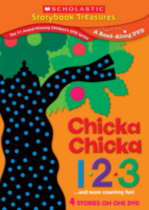 Chicka Chicka 123...and more stories about counting (Repackaged)