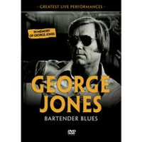 George Jones - Bartender Blues: Greatest Live Performances (Music DVD)