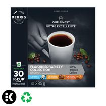 Notre Excellence Colection aromatisée capsules K-Cup® recyclables de Keurig®