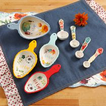 The Pioneer Woman Willow Measuring Scoop and Spoon Set