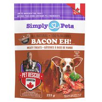 Simply Pets Bacon Eh! Meaty Dog Treats