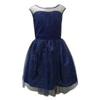 George Girls Lace and Glitter Dress 6