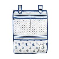 George baby Hanging Storage Blue