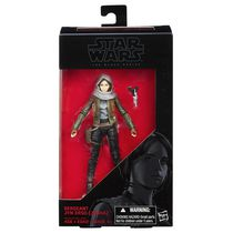 Figurine Sergent Jyn Erso (Jedho) de la série noire Rogue One de Star Wars