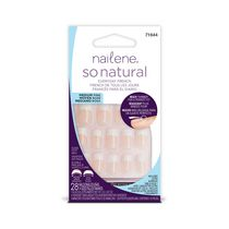 Nailene So Natural Everyday French Artificial Nails - Medium Pink