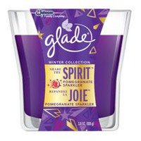 Glade® Holiday Candle, Share the Spirit - Pomegranate Sparkler