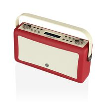 VQ Radio Hepburn MK II Bluetooth® Portable Speaker Red