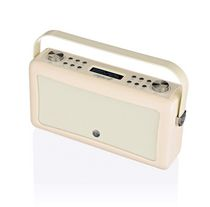 VQ Radio Hepburn MK II Bluetooth® Portable Speaker Cream