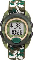 Timex® Green Case Camouflage Strap Kids Digital Watch