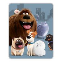 Secret Life of Pets My Best Buds Silk Touch Throw