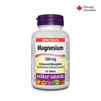 Webber NaturalsMD Magnésium, Absorption facile, 500 mg