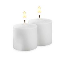 Just Candles 10hr Votive Candles - White