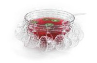 Brilliant 18 Piece Weave Punch Bowl Set for 8