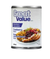 Great Value Whole Berry Cranberry Sauce