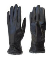 Kodiak Women's Leather Boa Cuff Glove 7