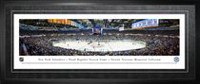 Frameworth Sports Panorama d'aréna encadré Dernier match au Nassau Coliseum Islanders de New York