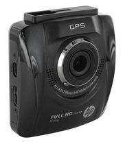 HP car camcorder F500g with GPS Black