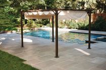 Pergola store rétractable de hometrends-Beige