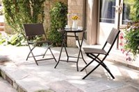 hometrends 3 Piece Wicker Bistro Set