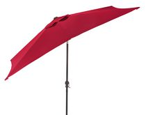 hometrends 9' Oblong Umbrella Red