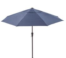 hometrends 9' Tilt Umbrella Navy