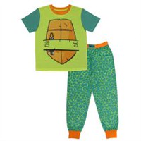 TMNT Boys' Top and Pant Pyjamas 2 Piece Set S