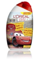 L'Oréal Kids' Disney Pixar Cars 2 In 1 Smoothie Shampoo