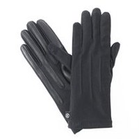 ISOfit by isotoner Women's SmarTouch Stretch Gloves Black