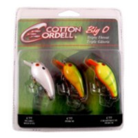 Cotton Cordell Big O Triple Threat Lure Kit