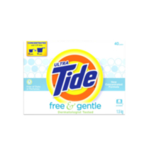 Ultra Tide Free Laundry Powder
